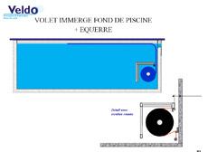 Type de placement veldo volet pour piscine for Volet piscine immerge fond de bassin